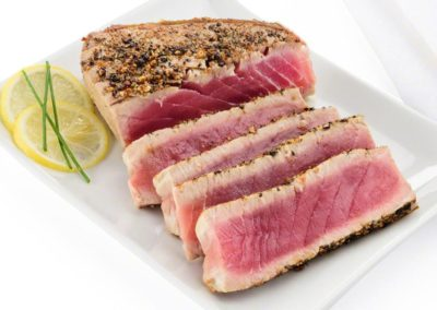 Pan-Seared Ahi Yellowfin Tuna