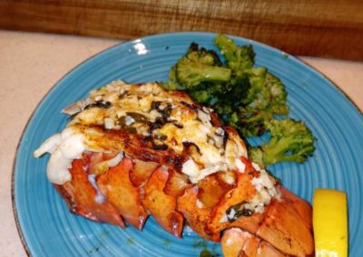 Broiled Cold Water Lobster Tail